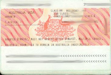 Applying for Australian Tourist Visit Visa from Paris