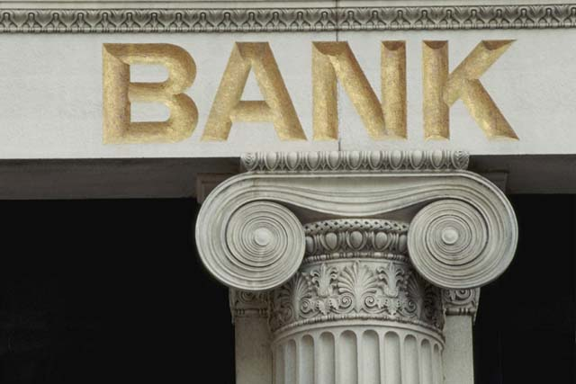 Banks near Balham Tube Station in London