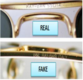 authentic ray bans cheap  How to Spot a Fake Ray-Ban Aviator