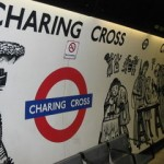 Charing Cross Tube Station London