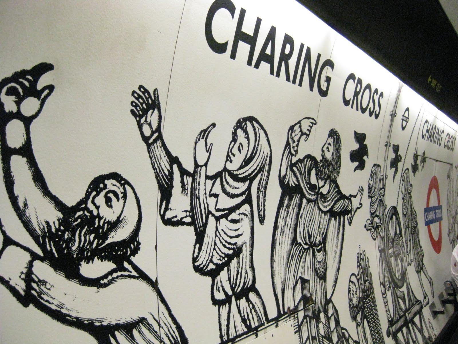 History of Charing Cross Tube Station London