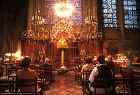 Christmas Prayers in Paris