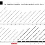 Clapham Tube Station Time Table