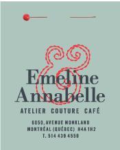 Emeline & Annabelle Atelier Couture Café