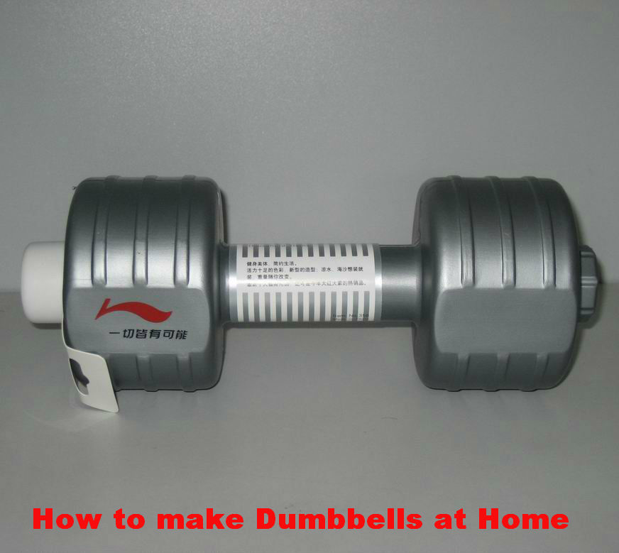 HOME MADE DUMBBELLS