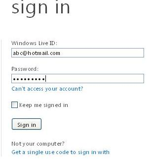How to Change Your Hotmail Email Account Password