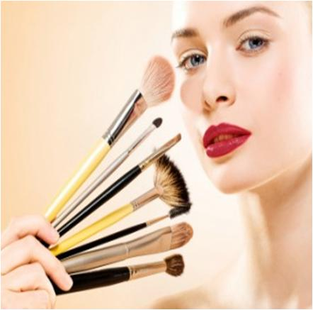 Apply Makeup for Photo Shoot