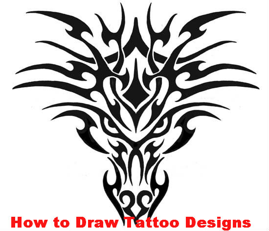 How to Draw Tattoo Designs