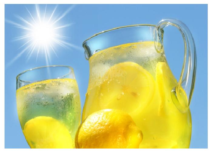 Refreshing Lemon Juice