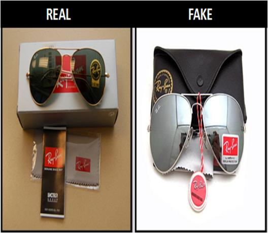 Spot a Fake Ray-Ban Aviator