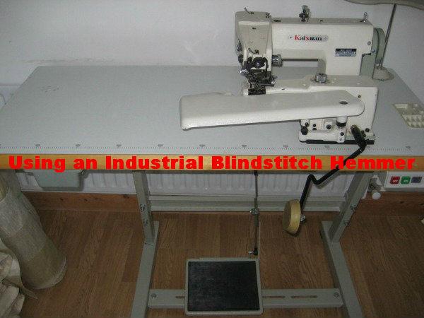 Industrial Blindstitich Hemmer
