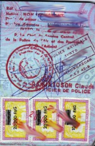 Madagascar Tourist Visit Visa from Ottawa