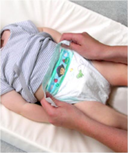 How To Change A Baby S Nappy