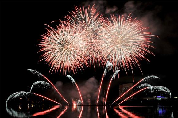 New Year Fireworks in Ottawa