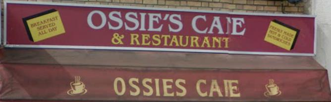 Ossie's cafe London logo