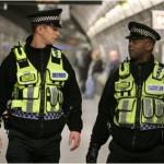 Police near Balham station in london