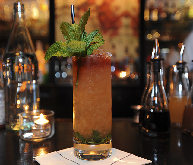 Queens Park Swizzle Recipe — Dishmaps