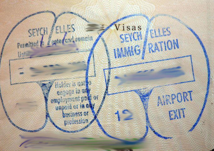 Seychelles visa