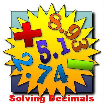 Solving Decimals