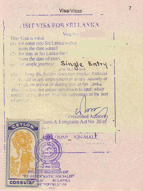 Applying for sri lanka tourist visit visa from paris - Sri lankan passport office in colombo ...