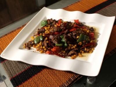 Stir Fried Szechuan Beef