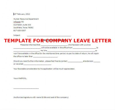 Leave Letter Math Worksheet Leave Letter Apply Annual Leave – Request for Leave Template