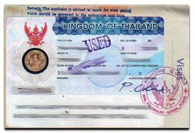 How to apply thailand tourist visit visa from paris