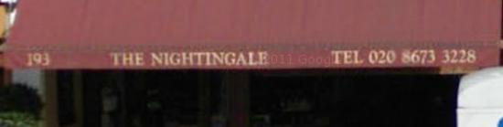 The nightingale coffee shop london logo