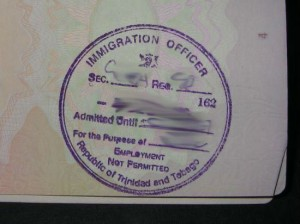 Trinidad and Tobago Tourist Visit Visa from Ottawa