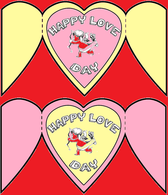 Templates for Valentine's Day Cards