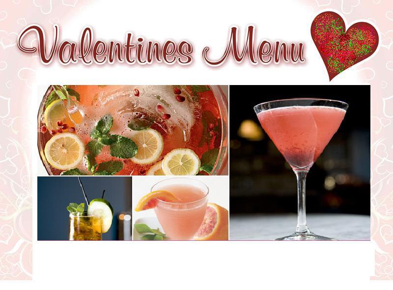 Valentine's Day Party Menu