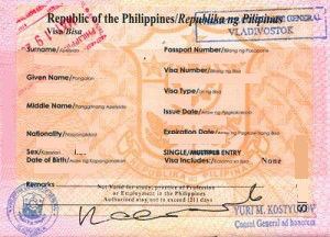 Philippines Tourist Visit Visa Requirements in Dubai