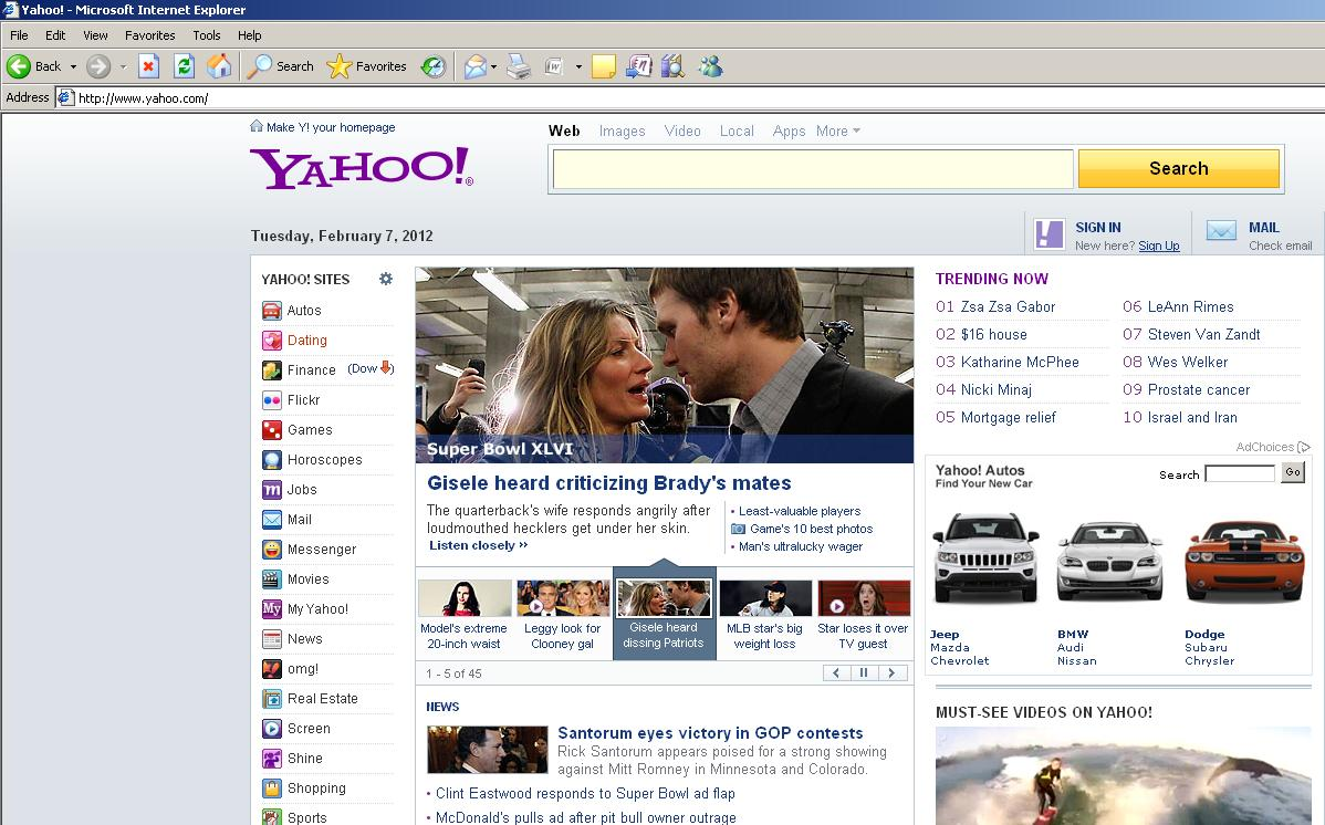 Pics Photos Yahoo Mail Login Screen Yahoo Mail Login Page ...