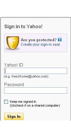 how to send an email yahoo