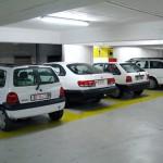 car park spaces