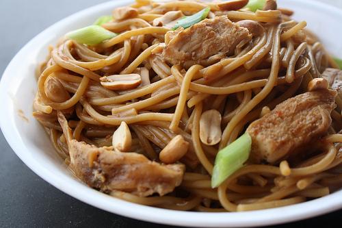 peanut butter noodles Recipe