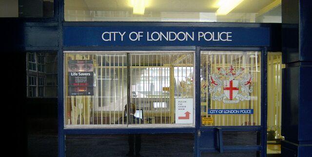 police station near barbican station