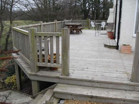 A Simple Raised Deck