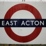 Acton Tube Station London