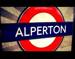 Alperton Tube Station London
