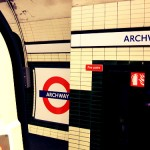 Archway Tube Station in London