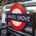 Arnos Grove Tube Station London