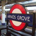 Arnos Grove Tube Station London