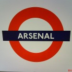 Arsenal Tube Station London