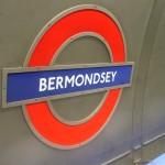Bermondsey Tube Station London