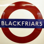 Blackfriars tube station