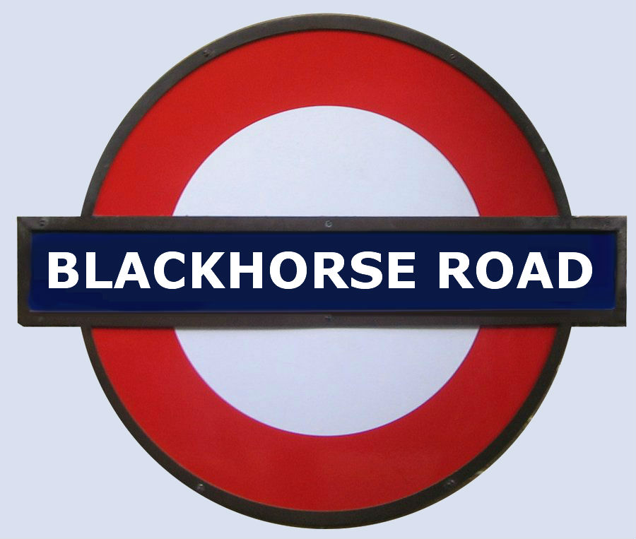 Blackhorse road tube Station