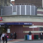 Borough Tube Station London