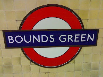 Bounds Green Tube Station London