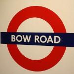 Bow Road Tube Station London